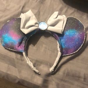 Custom Mickey ears (space mountain)